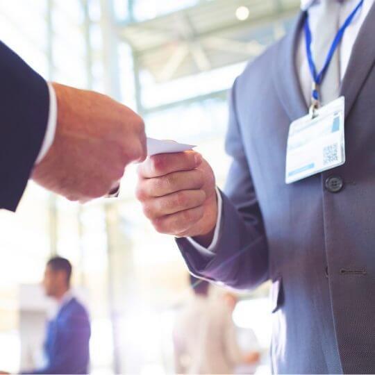 Trade Show Attendee, event, sales, marketing, leads generation, skyline entourage