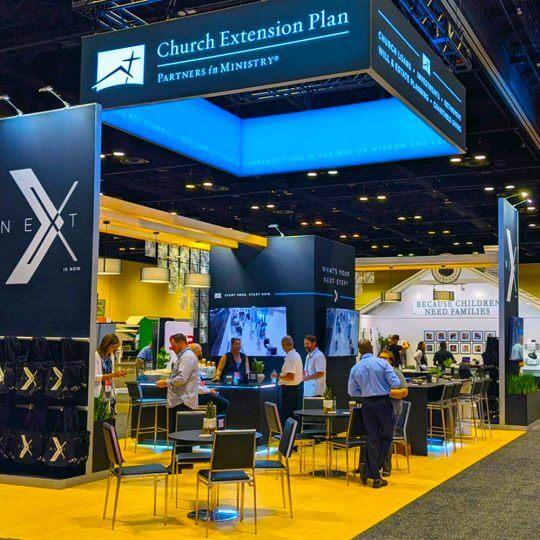 in-person trade show attendance, events, face to face marketing, skyline entourage