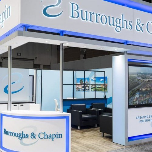 Burroughs & Chapin, Custom Island Exhibits, Skyline