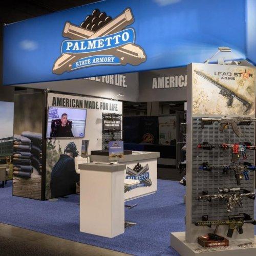 Palmetto, Custom Exhibit Design, Skyline Exhibits