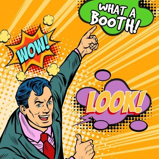 Trade show tips, Booth, exhibit design, staffers, blog, Skyline Entourage