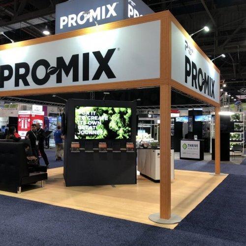 PremierTech, 20x20 Custom Island Exhibits, Island Booths, Skyline Entourage