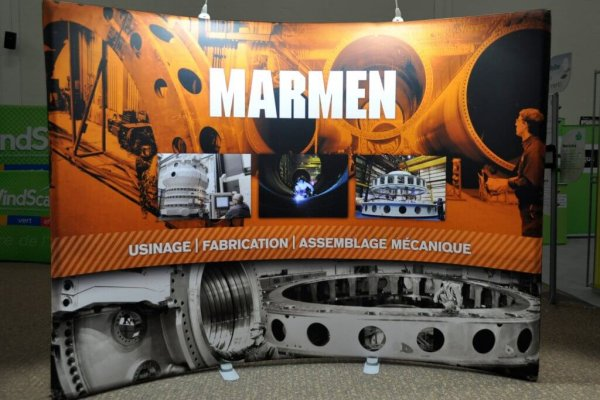 Marmen, 10x10 Portable Stand, Skyline Exhibits