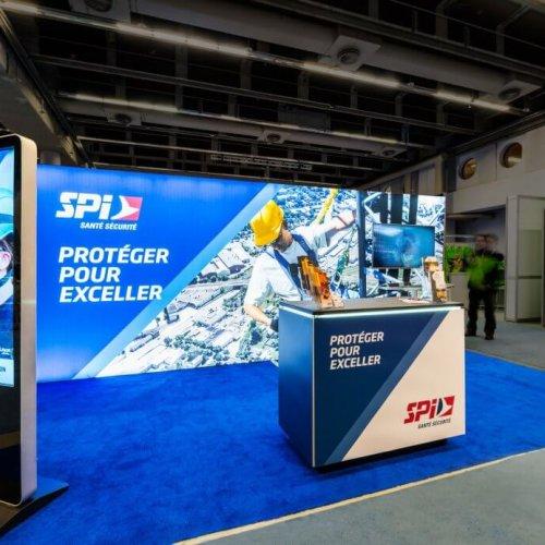 SPI, 10x20 Inline Trade Show Booths, Inline Exhibits, Skyline Entourage