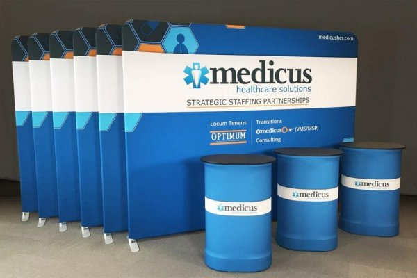 Medicus, 10x10 Portable Stands, Skyline Exhibits
