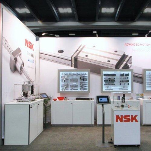NSK, Inline Trade Show Exhibit, Skyline exhibits